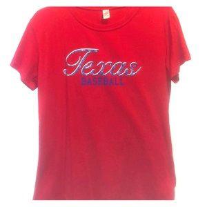 Tops - Texas baseball shirt